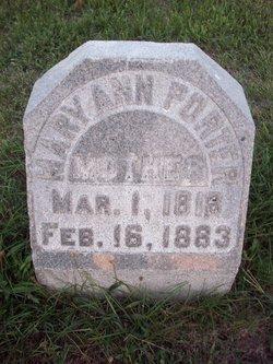 Mary Ann <i>Anderson</i> Porter