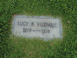 Lucy B Berlie <i>Stewart</i> Wiedman