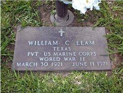 William Cratus Dub Elam