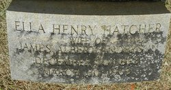 Ella Henry <i>Hatcher</i> Anderson