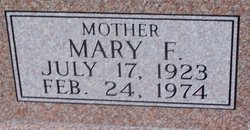 Mary Frances <i>Stone</i> Sherrer