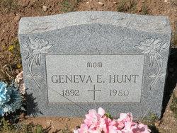 Geneva Ellen <i>Hamlin</i> Hunt