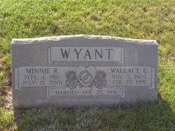 Rena Wilhelmina Minnie <i>Ackerman</i> Wyant