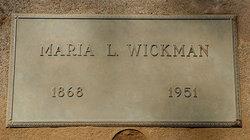 Maria L <i>Nylund</i> Wickman