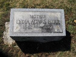 Lydia Agnes <i>Burell</i> Herr