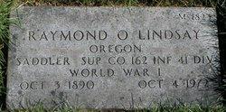 Raymond O Lindsay