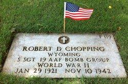 Sgt Robert D Choppy Chopping