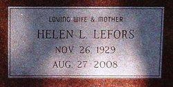 Helen Laverne <i>Lefors</i> Korkmas