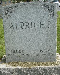 Edwin C Albright