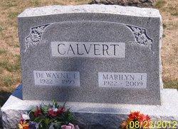 Marilyn J. <i>Whited</i> Calvert