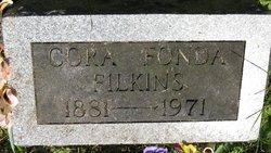 Cora A. <i>Fonda</i> Filkins