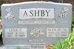 Olen H Ashby, Sr