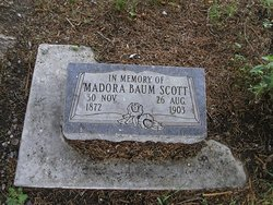 Almeda Medora <i>Baum</i> Scott