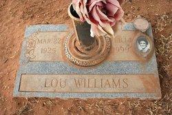 Lou <i>Pevehouse</i> Williams