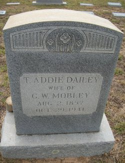 Thursa Addie <i>Dailey</i> Mobley
