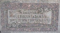 Jerolyn Adams