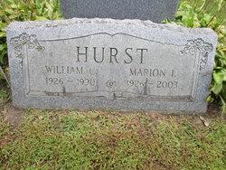 Marion I. <i>Leech</i> Hurst