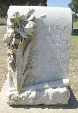 Annie M. Bixler