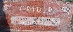 Martha Anna <i>Hillyard</i> Crider