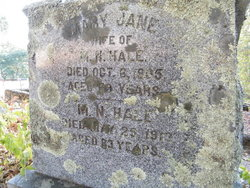Mary Jane <i>Grigsby</i> Hale