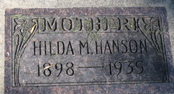 Hilda Marie <i>Olson</i> Hanson