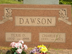 Texie David <i>Lewis</i> Dawson