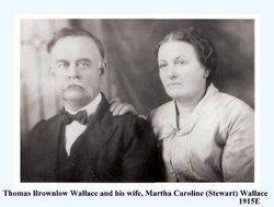 Martha Caroline <i>Stewart</i> Wallace