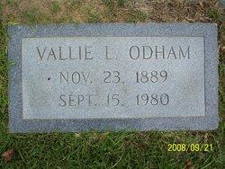 Martha Vallie <i>Langston</i> Odham