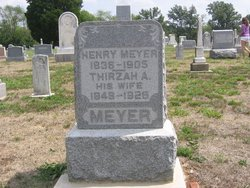 Thirza Ann <i>Newman</i> Meyer