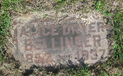 Alice <i>Dryer</i> Bellinger