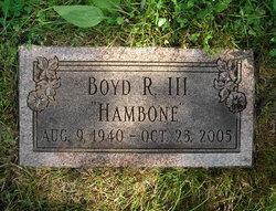 Boyd Rodger Hambone Hambleton, III