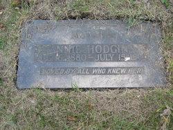 Annie <i>Frain</i> Hodgins
