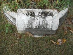 Jane <i>Boyce</i> Aste
