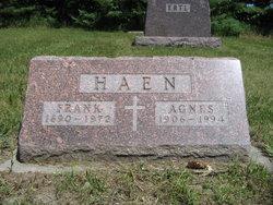 Agnes Bernadine <i>Hagen</i> Haen