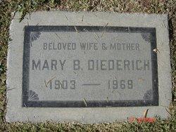 Mary Bernadine <i>Benz</i> Diederich