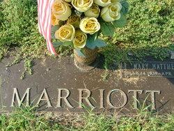 Mary <i>Matthews</i> Marriott