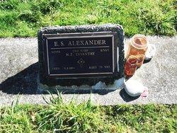 Edgar Stirling Alexander