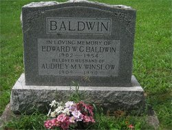 Audrey Mary Victoria <i>Winslow</i> Baldwin