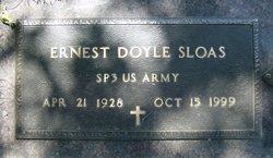 Ernest Doyle Sloas