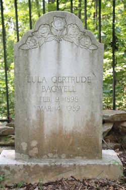 Tulula Gertrude Lula Bagwell