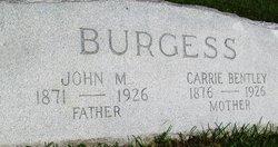 Carrie Bentley Burgess