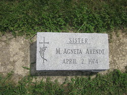Sr M Agneta Arendt
