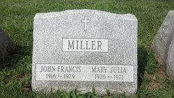 Mary Julia <i>Nethercott</i> Miller