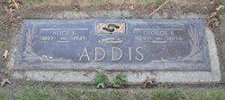 Alice E. <i>Swanger</i> Addis