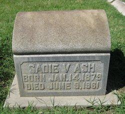 Sadie V <i>Briscoe</i> Ash