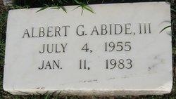Albert G. Abide, III