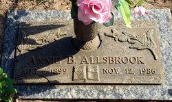 Annie B Allsbrook