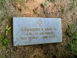 Robinson R. Robin Bain, Jr
