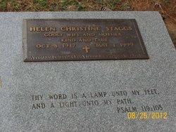 Helen Christine Staggs