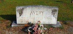 Lillie E <i>Martin</i> Avery
